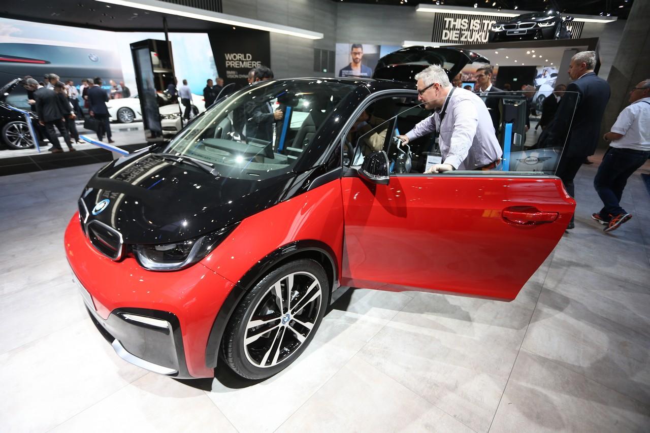BMW i3s - Salone di Francoforte 2017