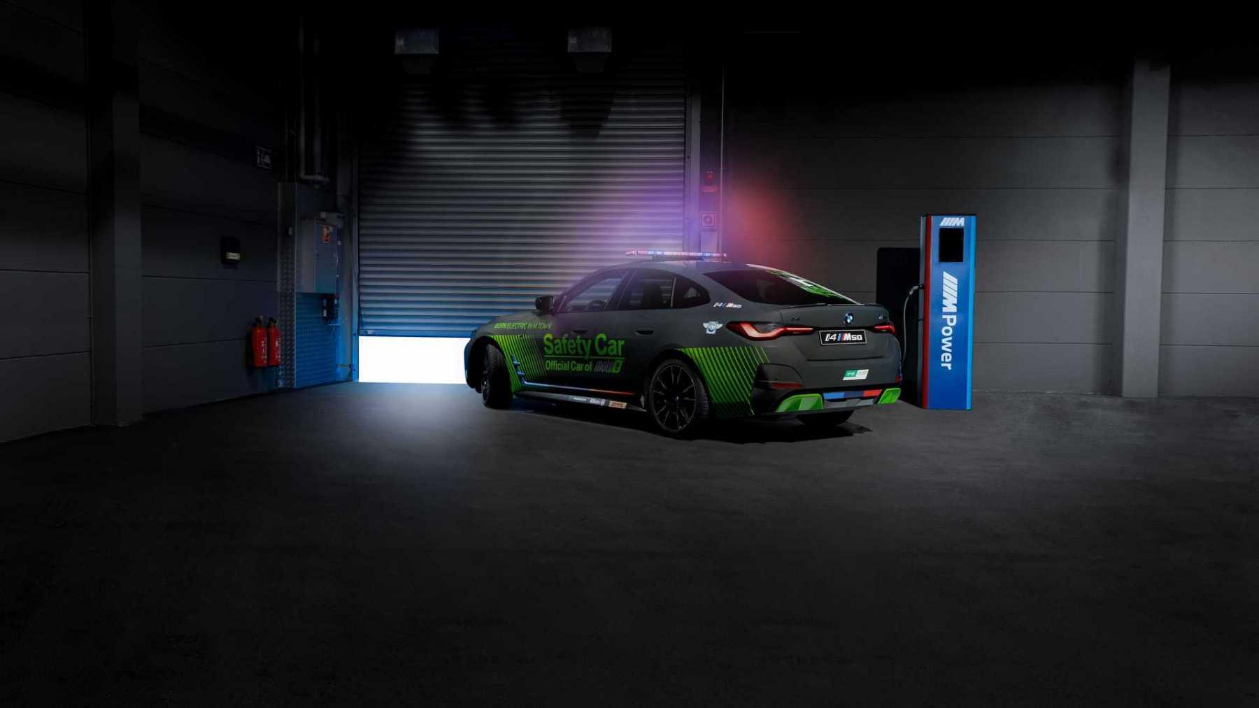 BMW i4 M50 - Safety car MotoE