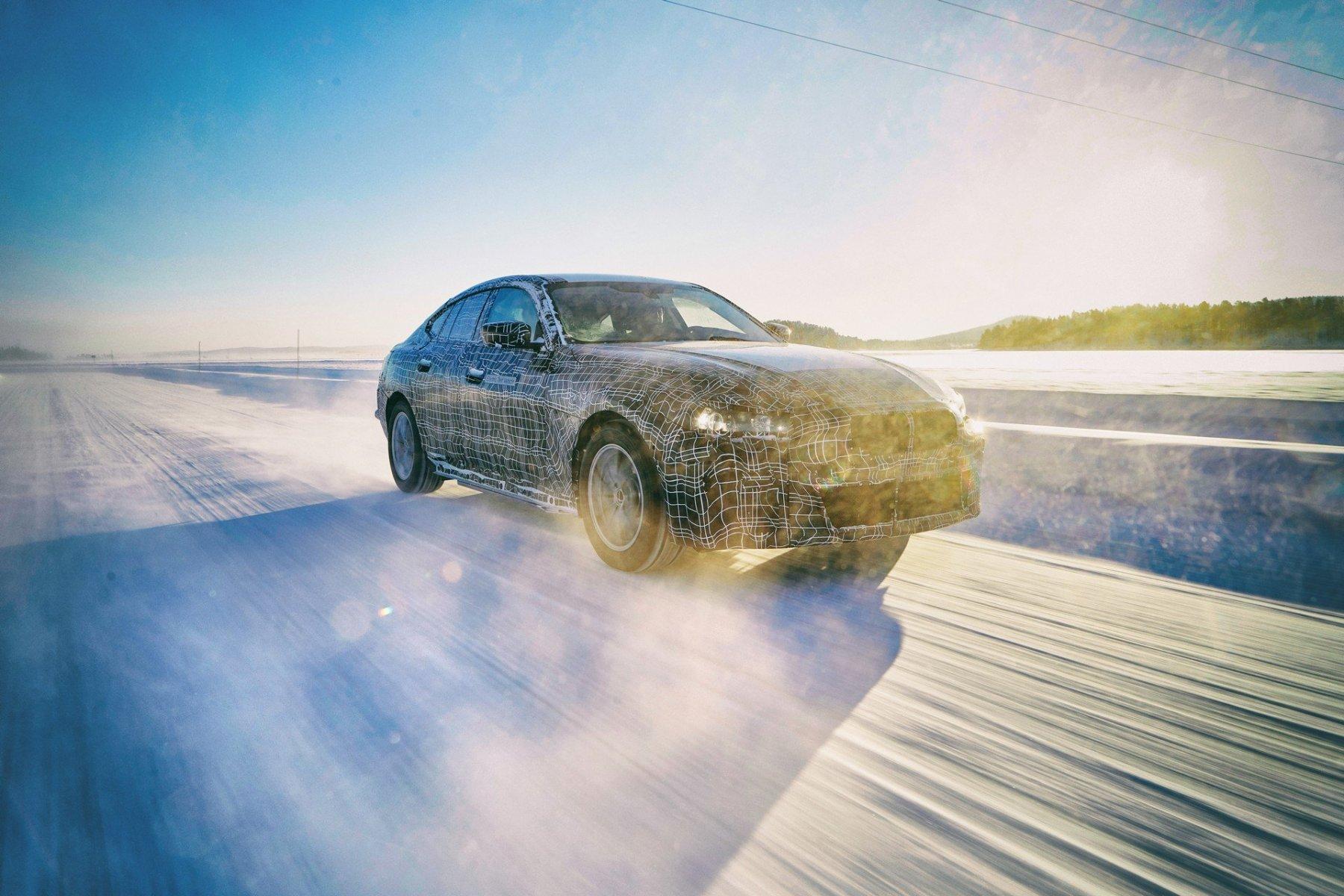 BMW i4 - Prototipo