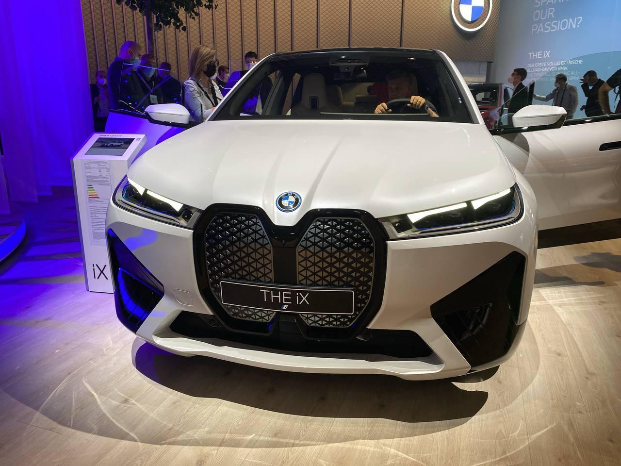 BMW iX - Salone di Monaco 2021
