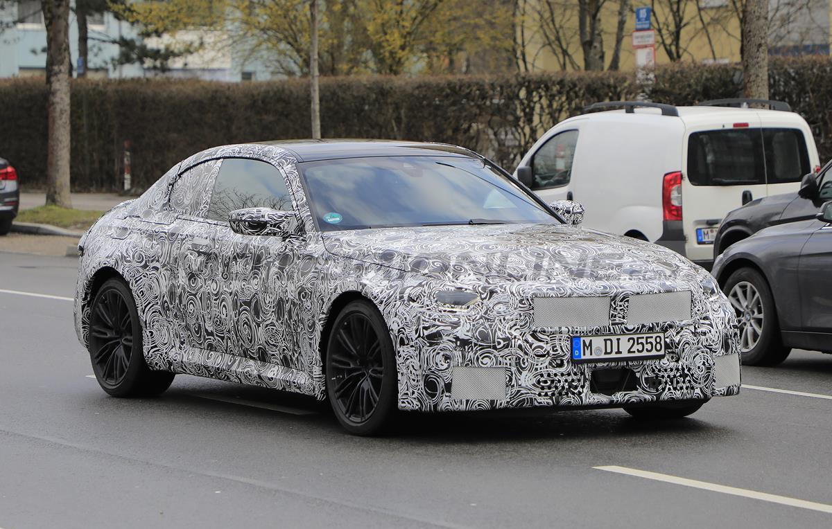 BMW M2 2022 - Foto spia 11-03-2021