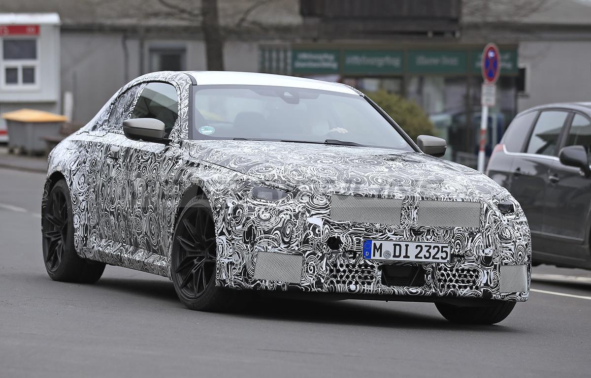 BMW M2 2022 - Foto spia 25-03-2021