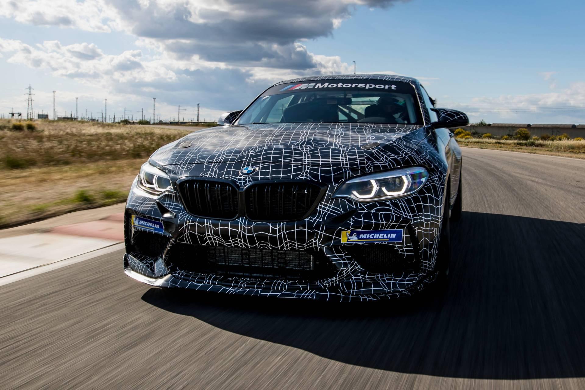 BMW M2 Competition race car - Teaser