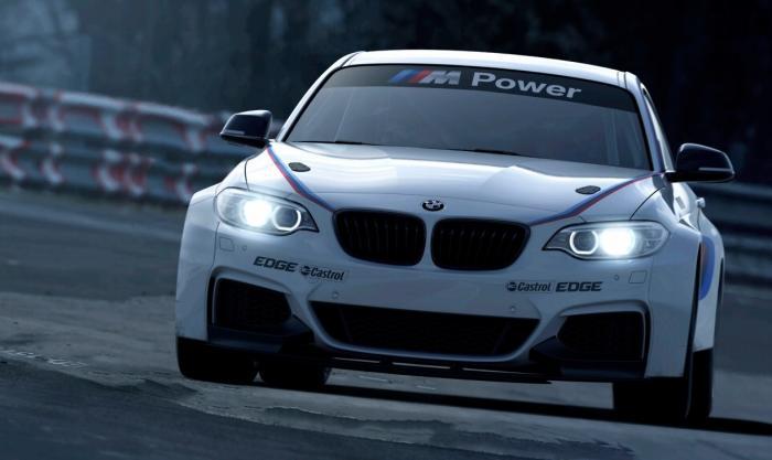 BMW M235i Racing in pista