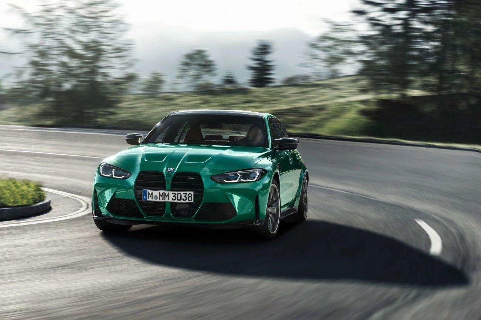 BMW M3 e M4 2021 - Foto leaked