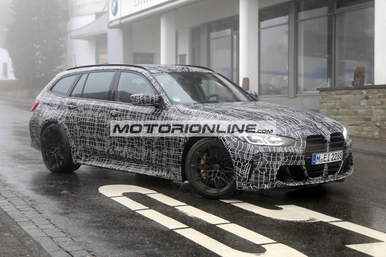 BMW M3 Wagon - Foto spia 26-10-2020