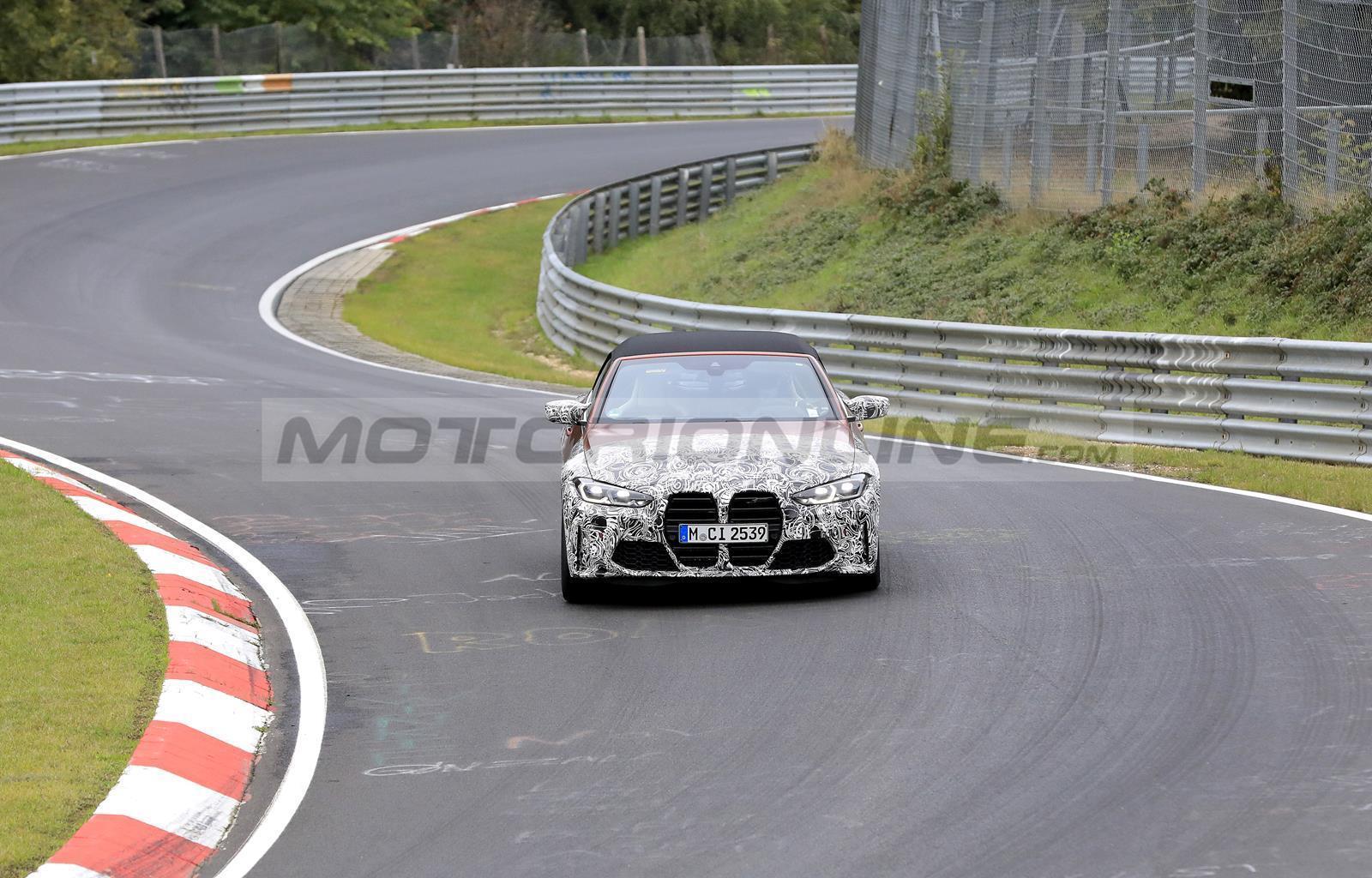 BMW M4 Cabrio 2021 - Foto spia 20-10-2020