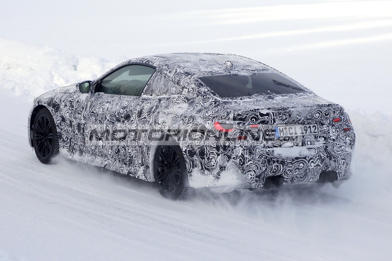 BMW M4 Coupe - Foto spia 19-2-2020
