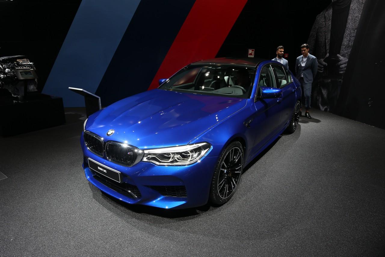 BMW M5 - Salone di Francoforte 2017