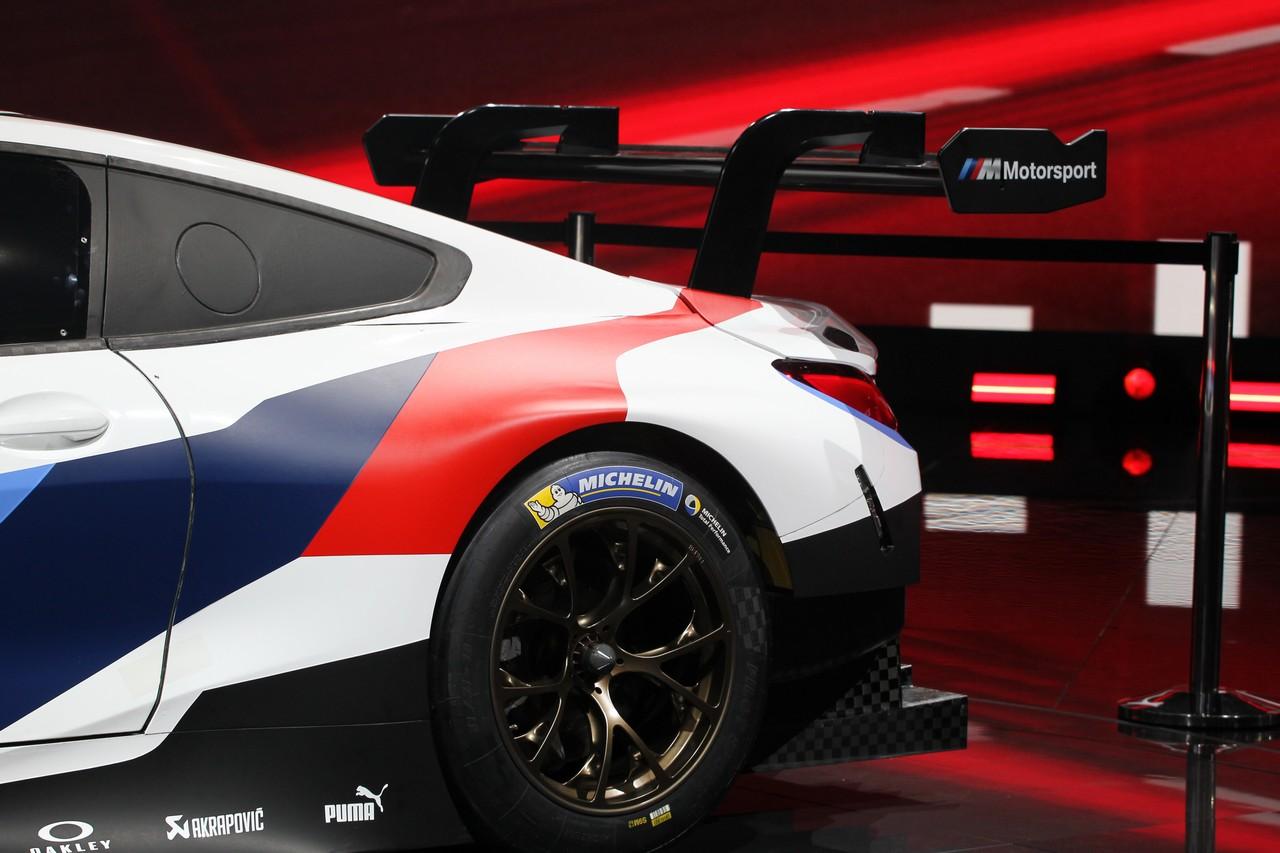 BMW M8 GTE - Salone di Francoforte 2017