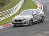 BMW Serie 1 2019 - Le foto spia dal Nurburgring