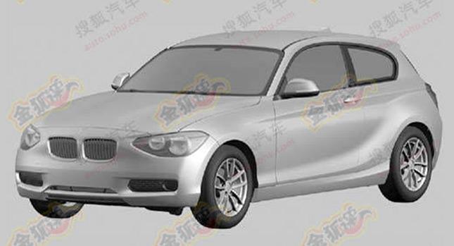 BMW Serie 1 3 porte bozzetti spy