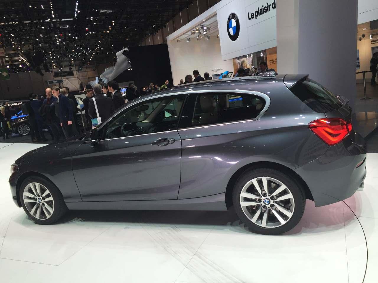 BMW Serie 1 - Salone di Ginevra 2015