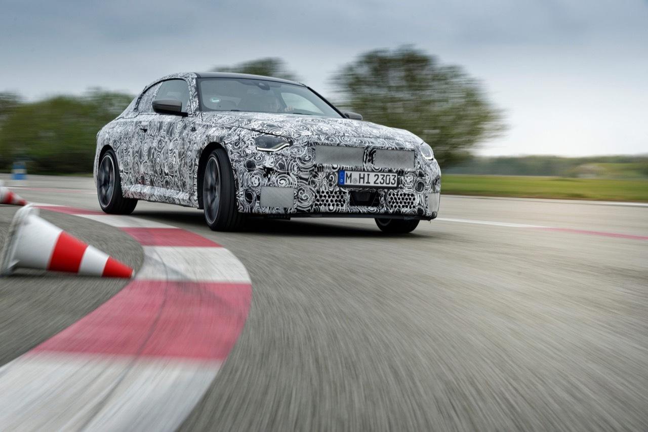 BMW Serie 2 2022 - FotoSpia Ufficiali
