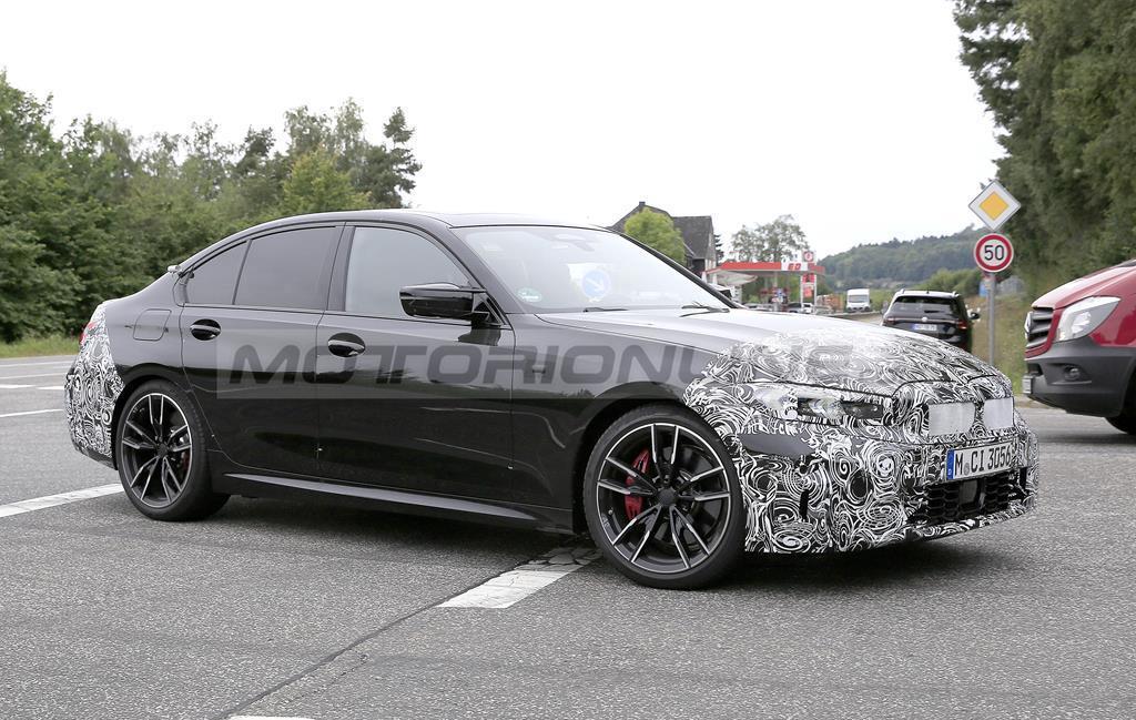 BMW Serie 3 2023 - Foto spia 15-09-2021
