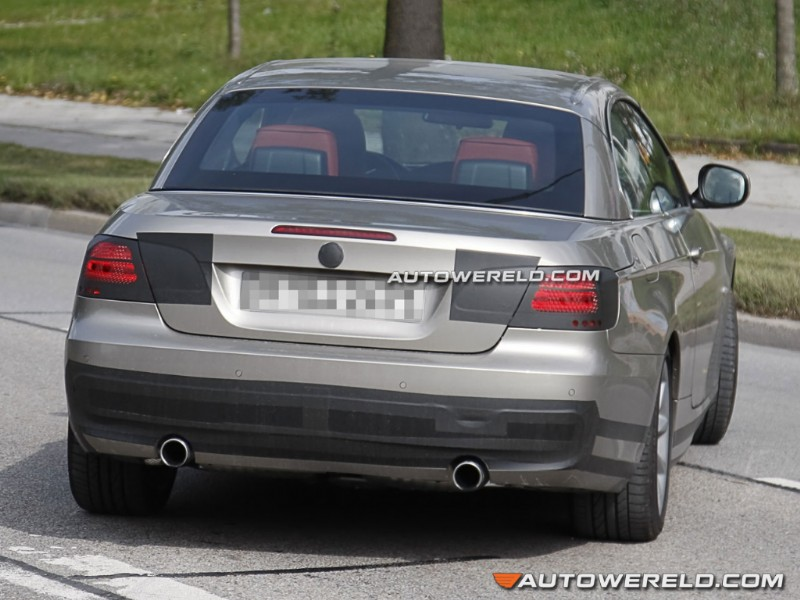 BMW Serie 3 Cabrio Restyling
