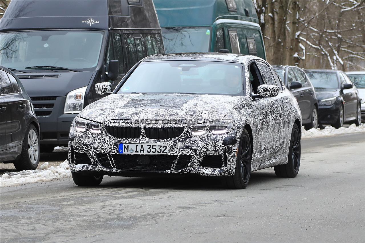BMW Serie 3 foto spia 21-3-2018