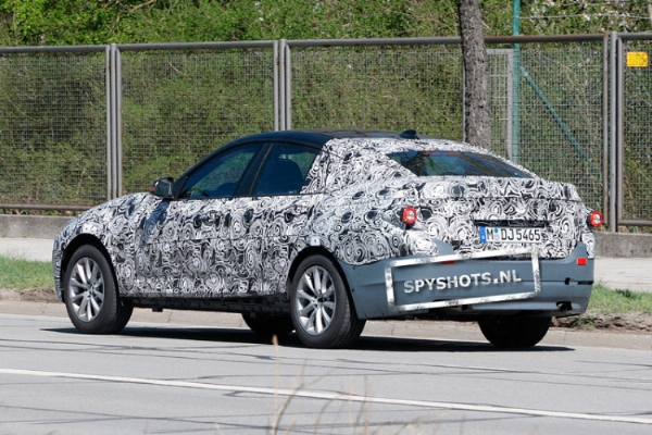BMW Serie 3 GT 2012 foto spia