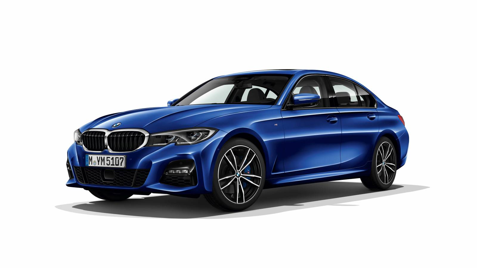 BMW Serie 3 MY 2019 - Foto leaked
