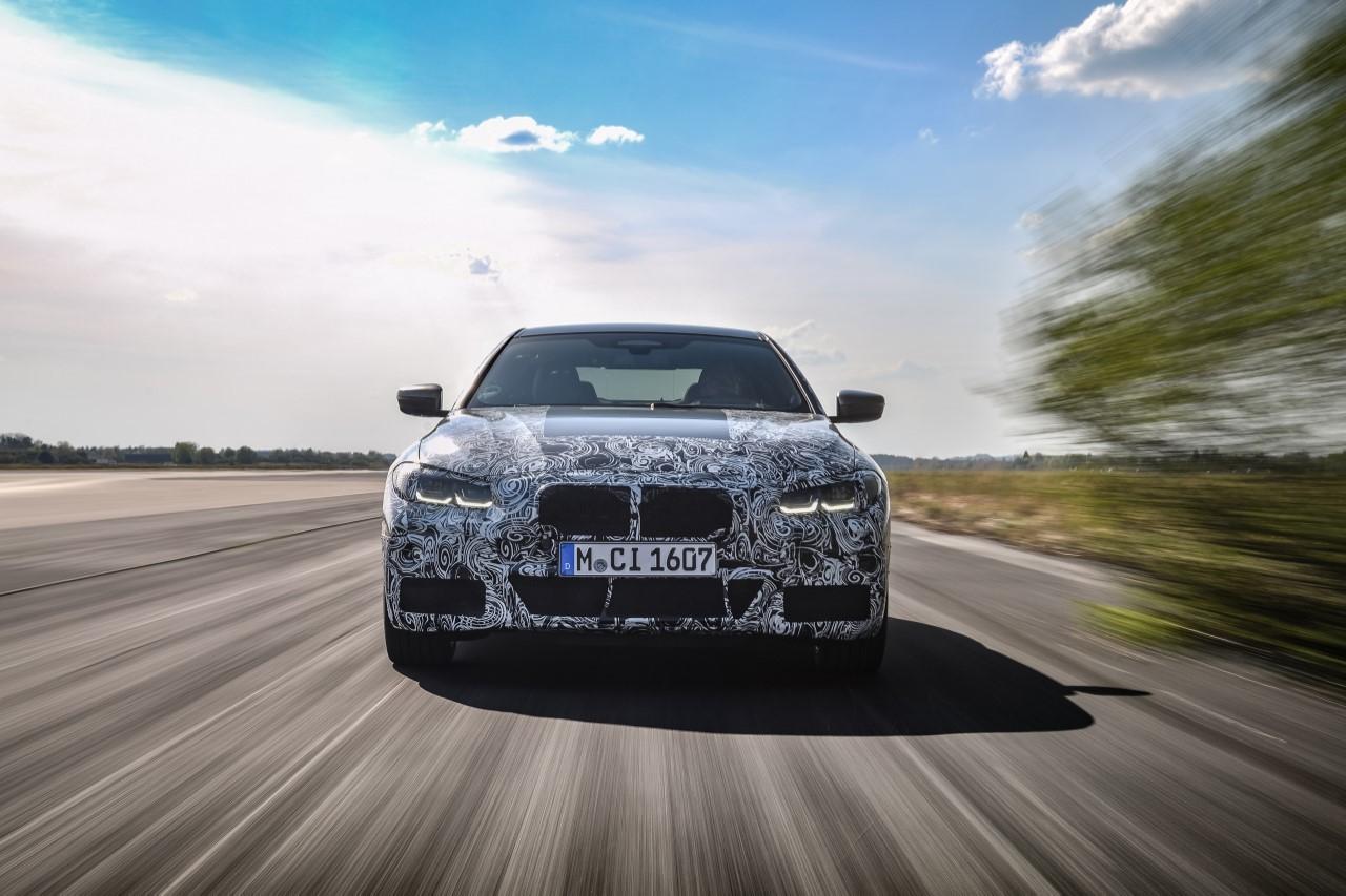 BMW Serie 4 2020 - Foto ufficiali test collaudo