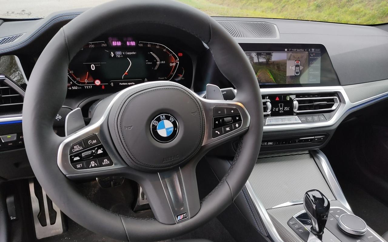 BMW Serie 4 2020 - Prova Fontanafredda
