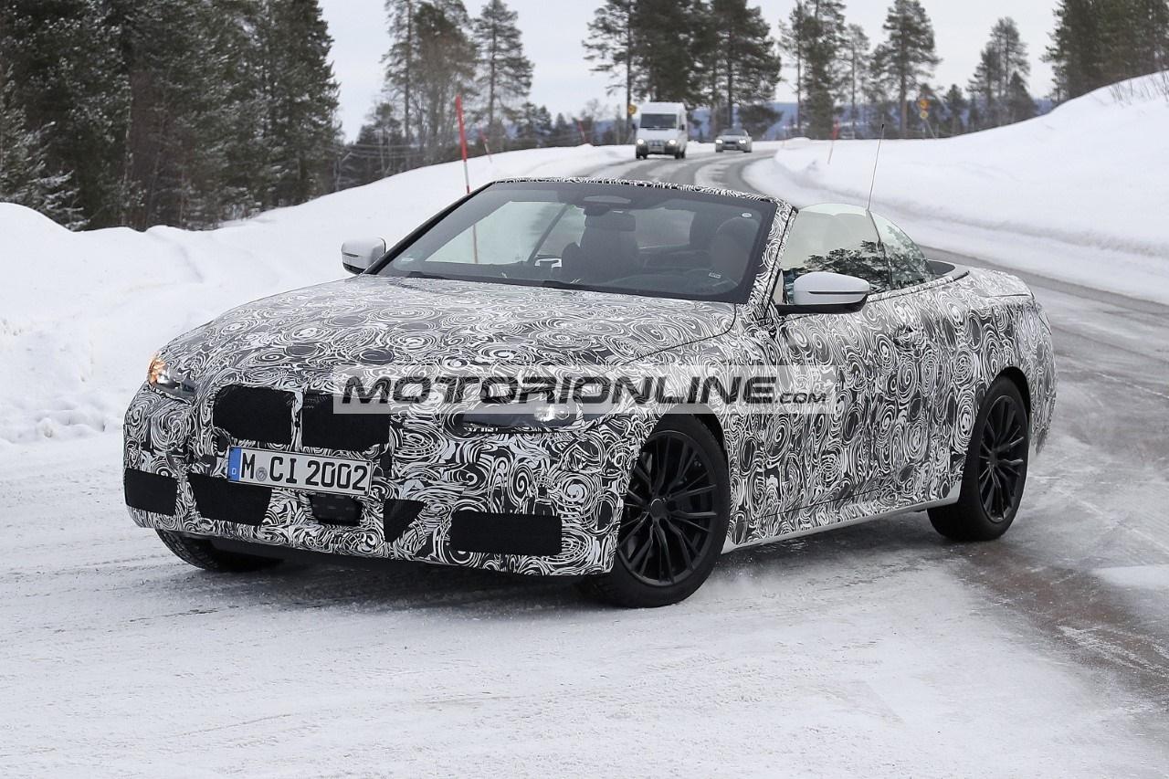 BMW Serie 4 Cabrio - Foto spia 17-4-2020