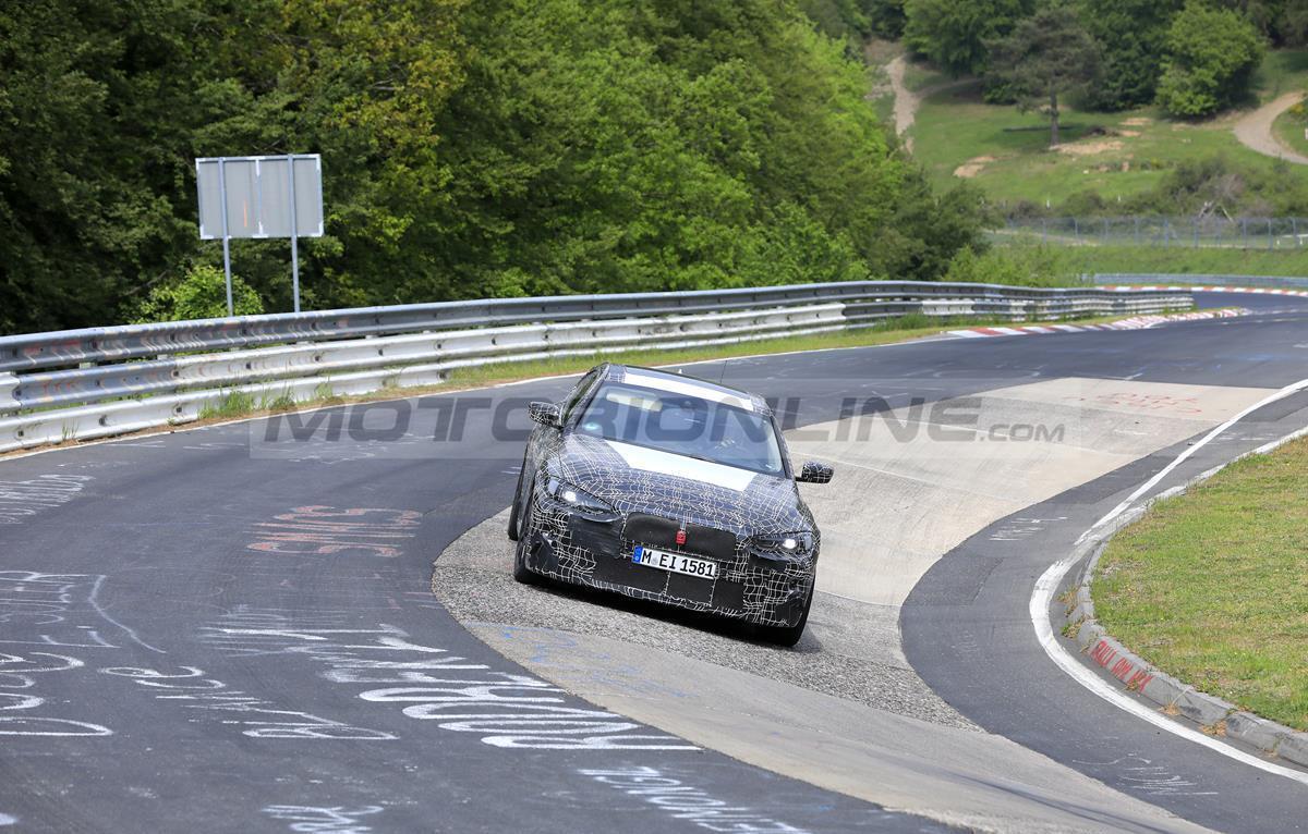 BMW Serie 4 Gran Coupe 2021 - Foto spia 20-05-2020