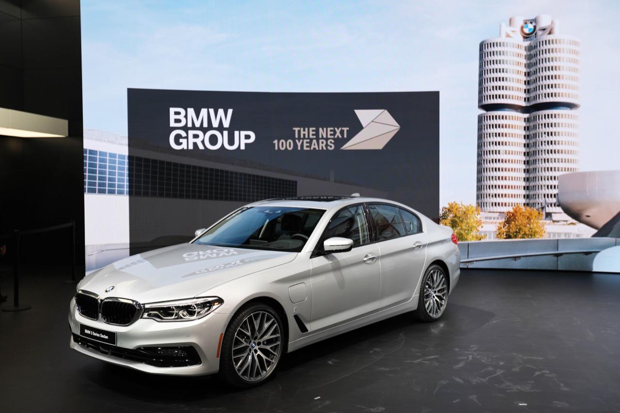 BMW Serie 5 - Salone di Detroit 2017
