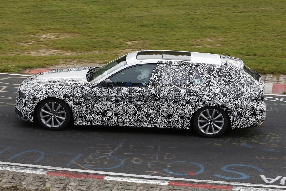 BMW Serie 5 Touring MY 2017 - Foto spia 14-10-2015