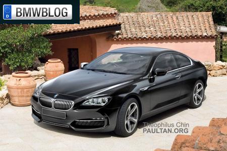 BMW Serie 6 2011 render