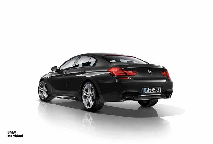 BMW Serie 6 e M6 Gran Coupe Individual