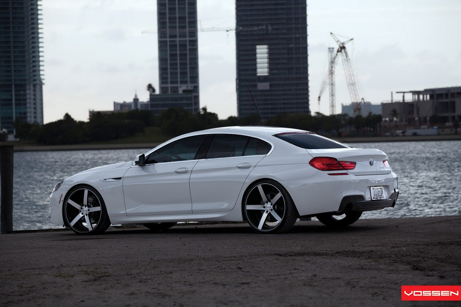 bmw serie 6 gran coupe m sport package by vossen 8 10. Black Bedroom Furniture Sets. Home Design Ideas