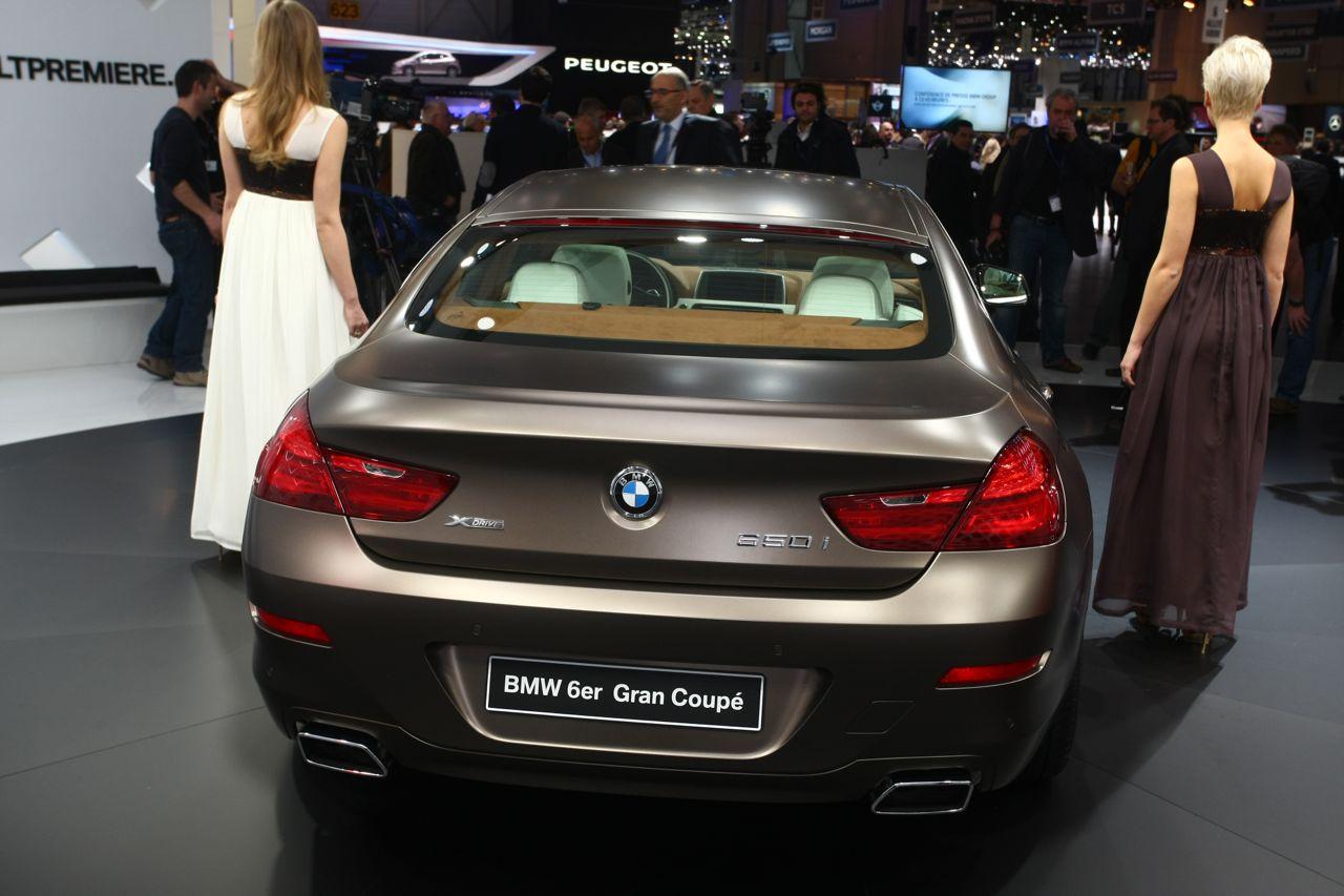 BMW Serie 6 Grand Coupe - Salone di Ginevra 2012