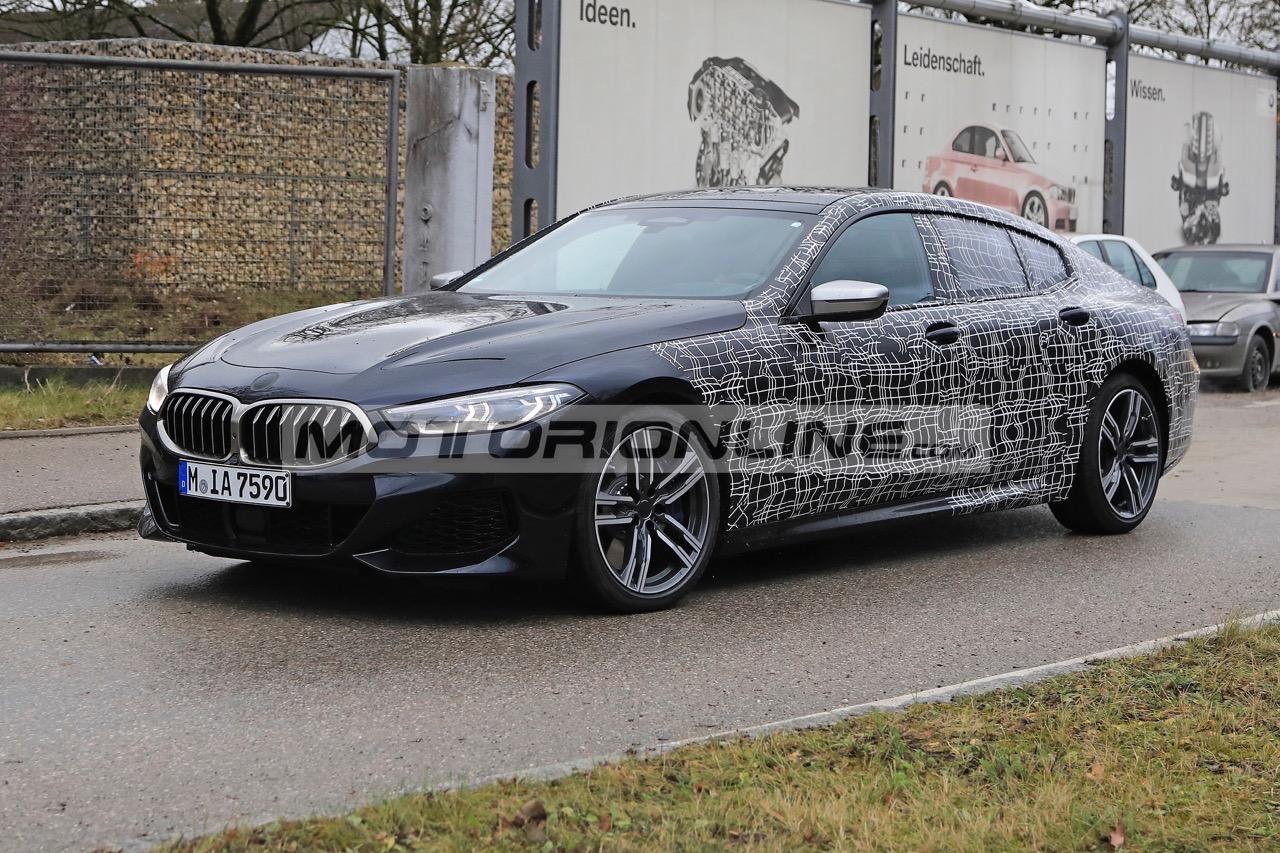 BMW Serie 8 Gran Coupé - Foto spia 12-12-2018