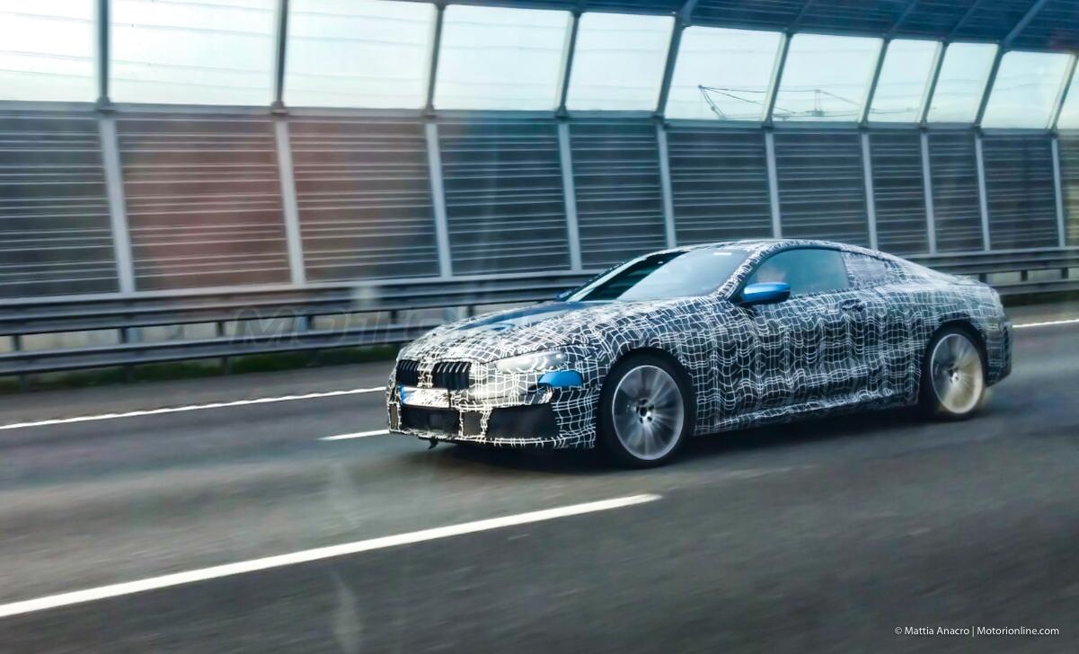 BMW Serie 8 MY2019 - Foto spia 09-04-2018