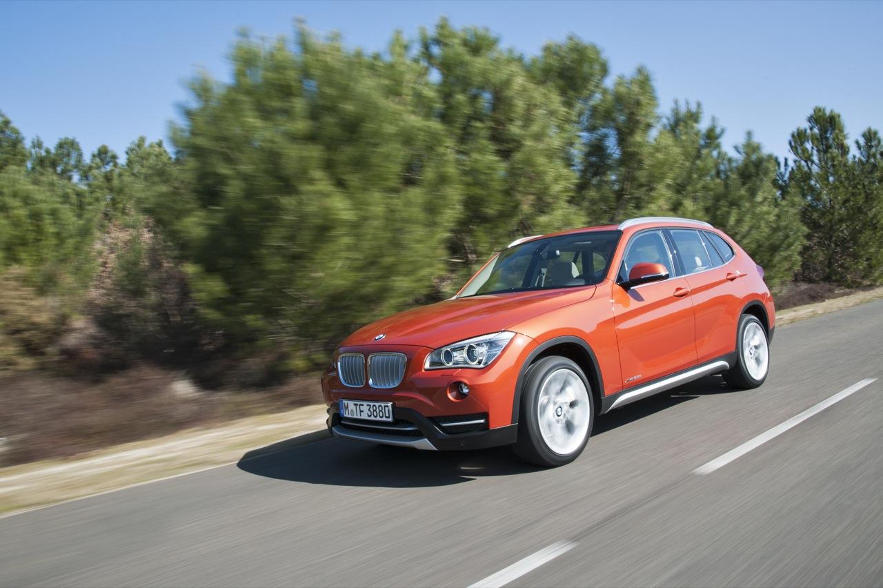 BMW X1 2012 - Foto ufficiali in movimento
