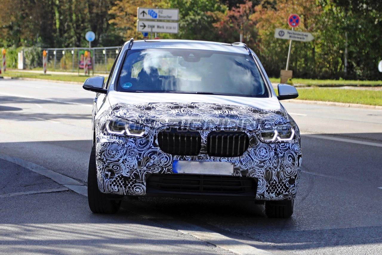 BMW X1 - Foto spia 09-10-2018