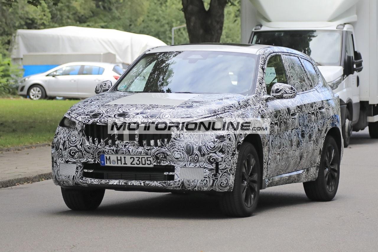 BMW X1 - Foto spia 8-9-2020