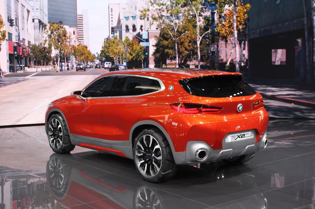 BMW X2 Concept - Salone di Parigi 2016