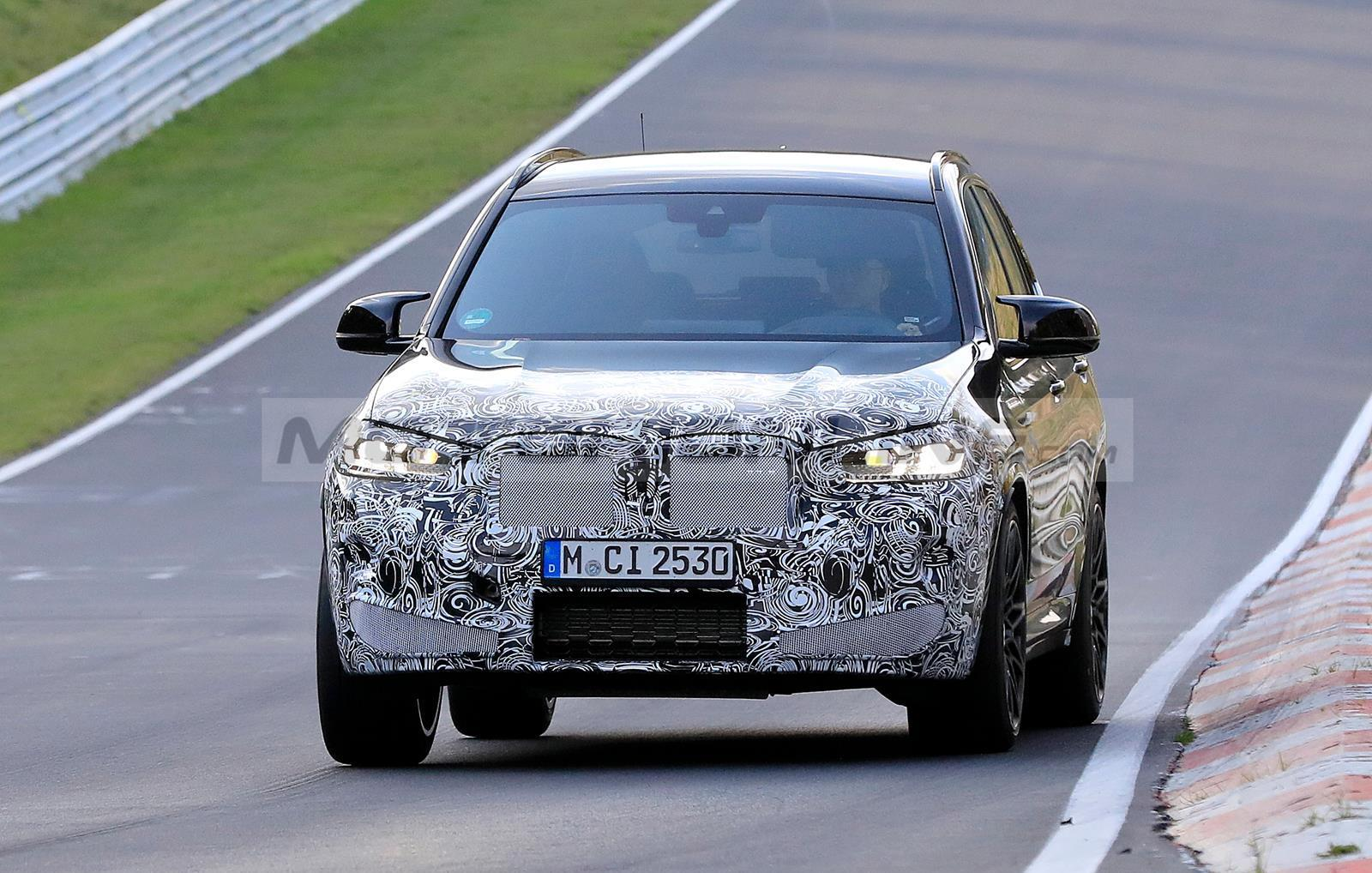 BMW X3 M 2022 - Foto spia 23-10-2020