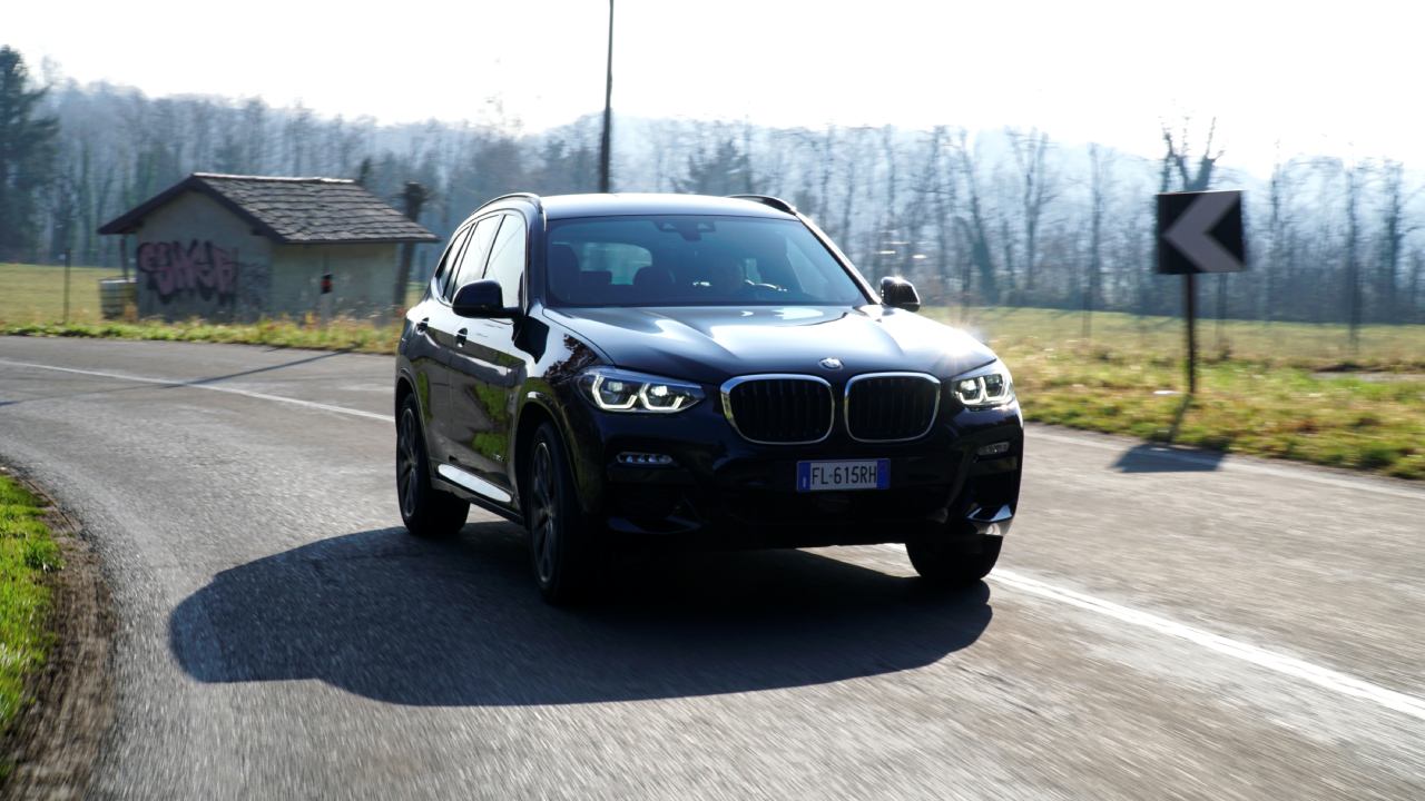 BMW X3 - Prova su strada 2018