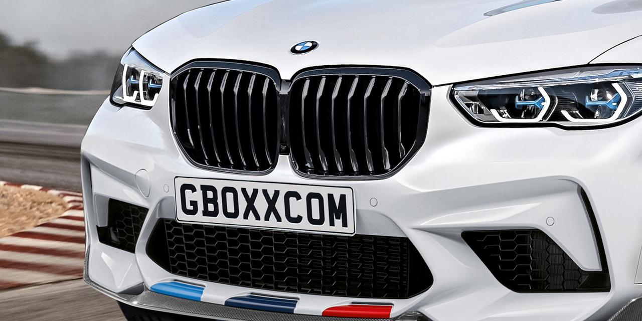 BMW X5 M MY 2020 - Rendering Nikita