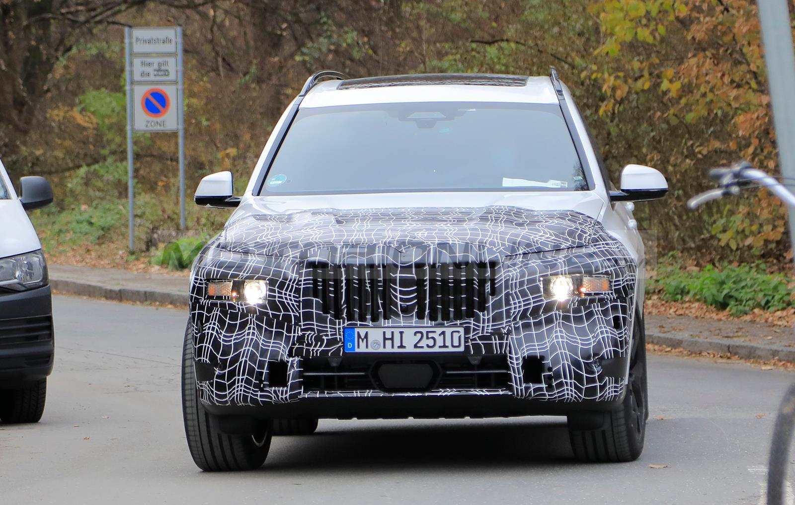 BMW X7 2021 - Foto spia 27-11-2020