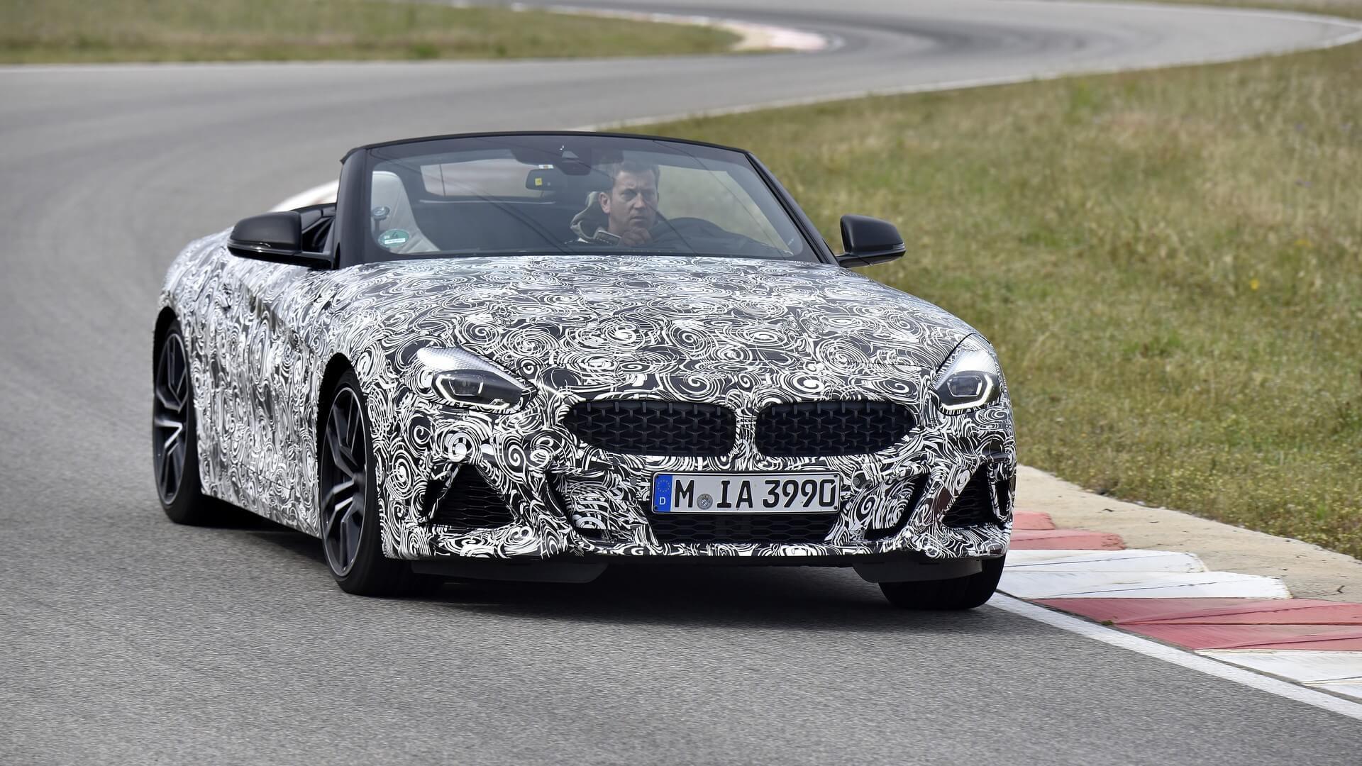 BMW Z4 MY 2019 - Teaser