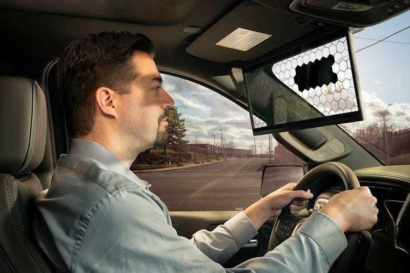 Bosch - Visiera parasole virtuale