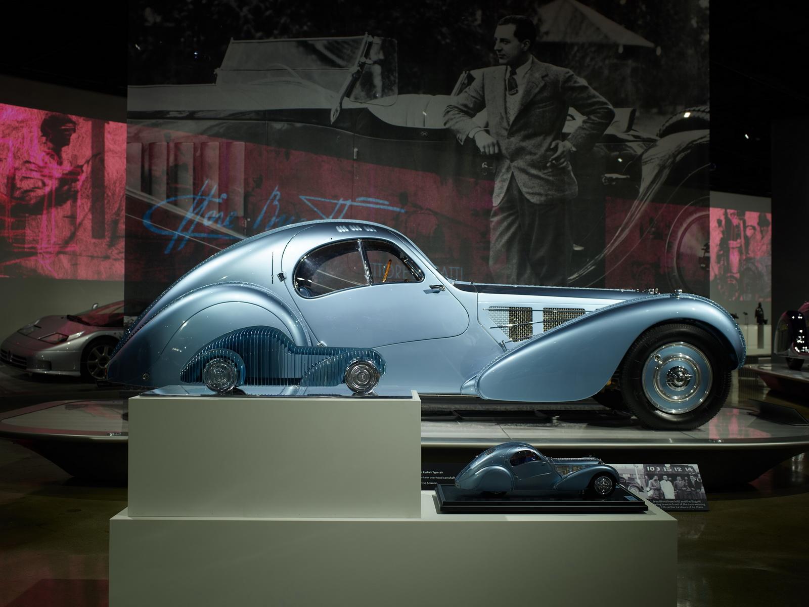 Bugatti al Petersen Automotive Museum