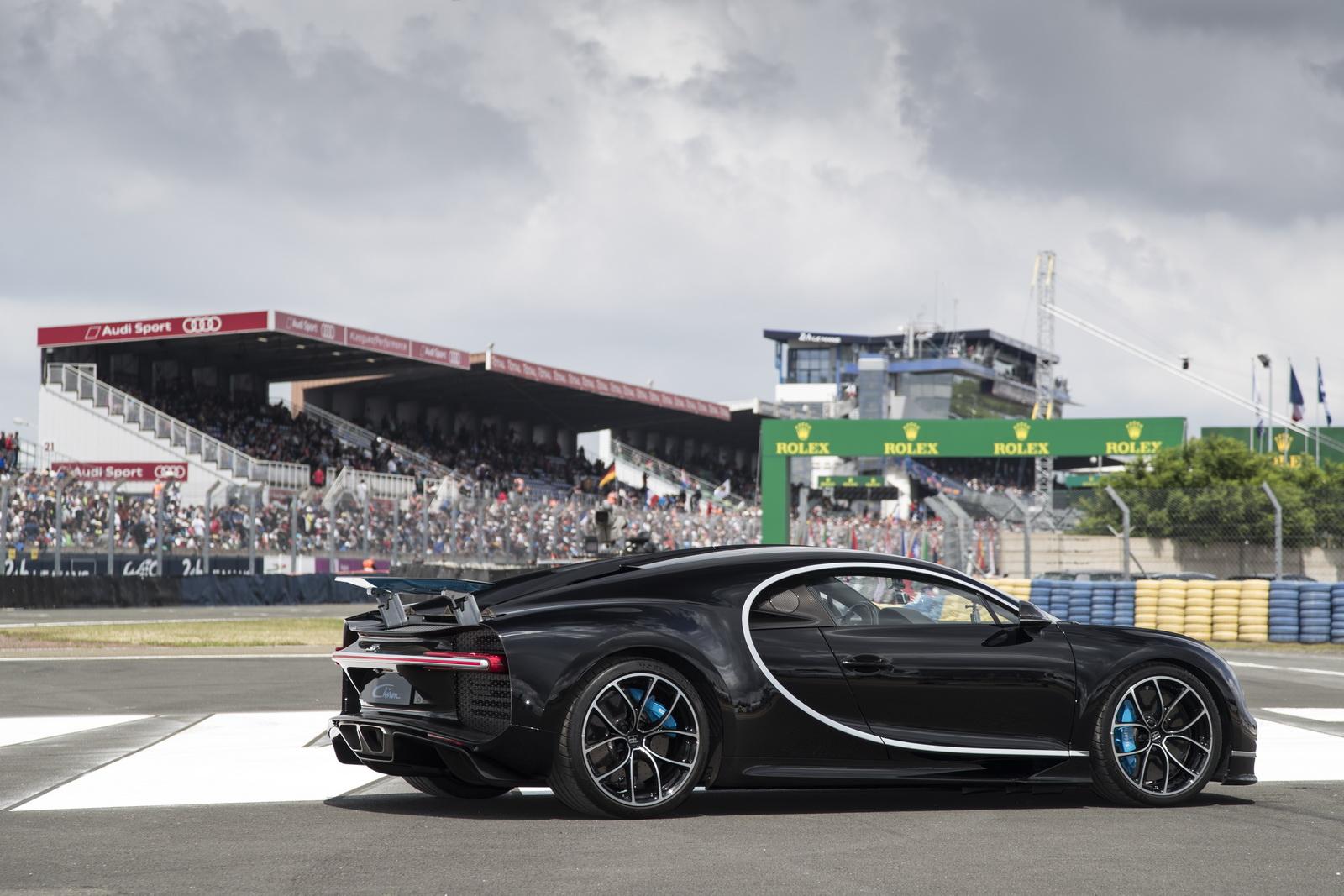 Bugatti Chiron a Le Mans