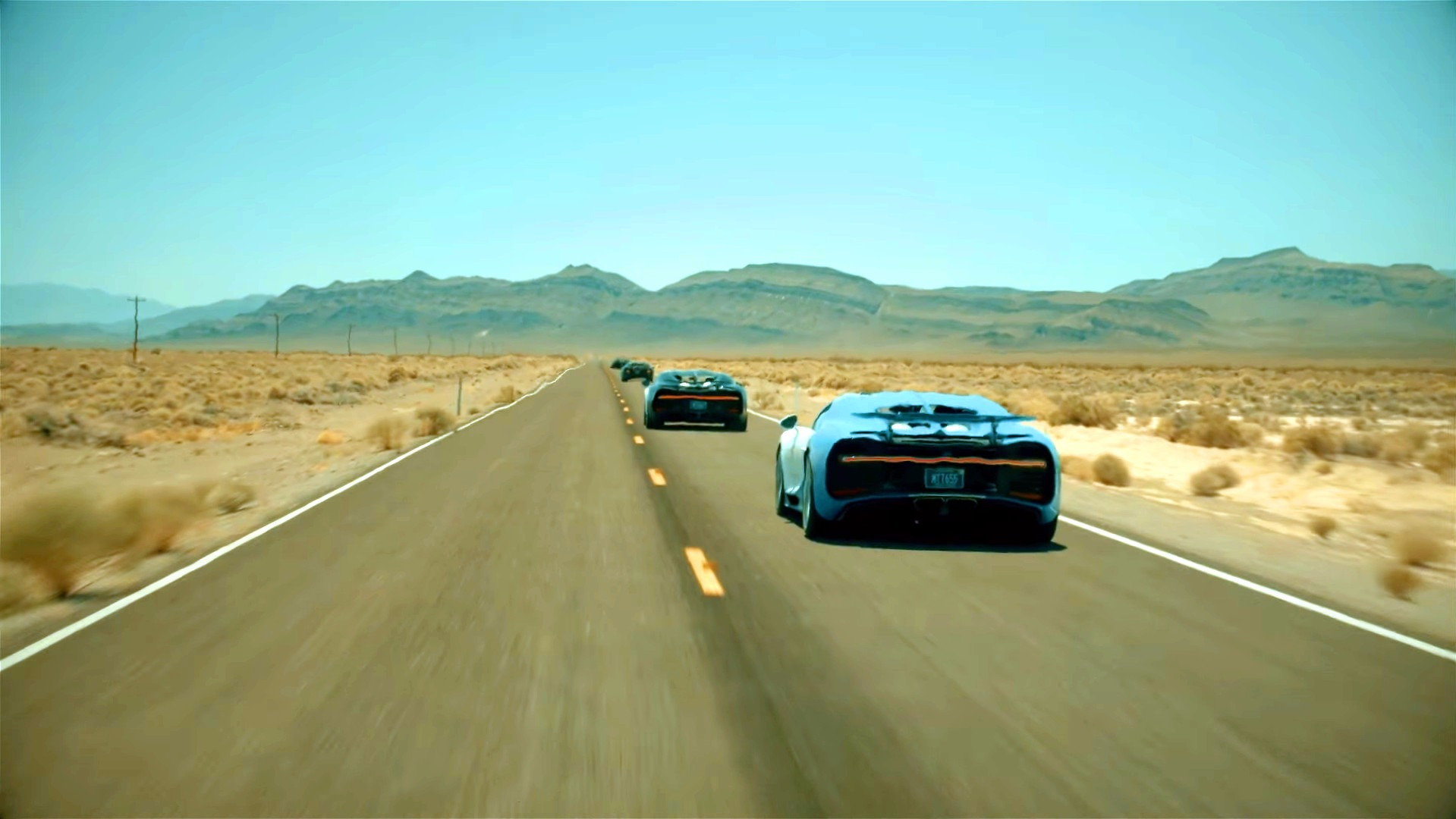 Bugatti Chiron - Death Valley
