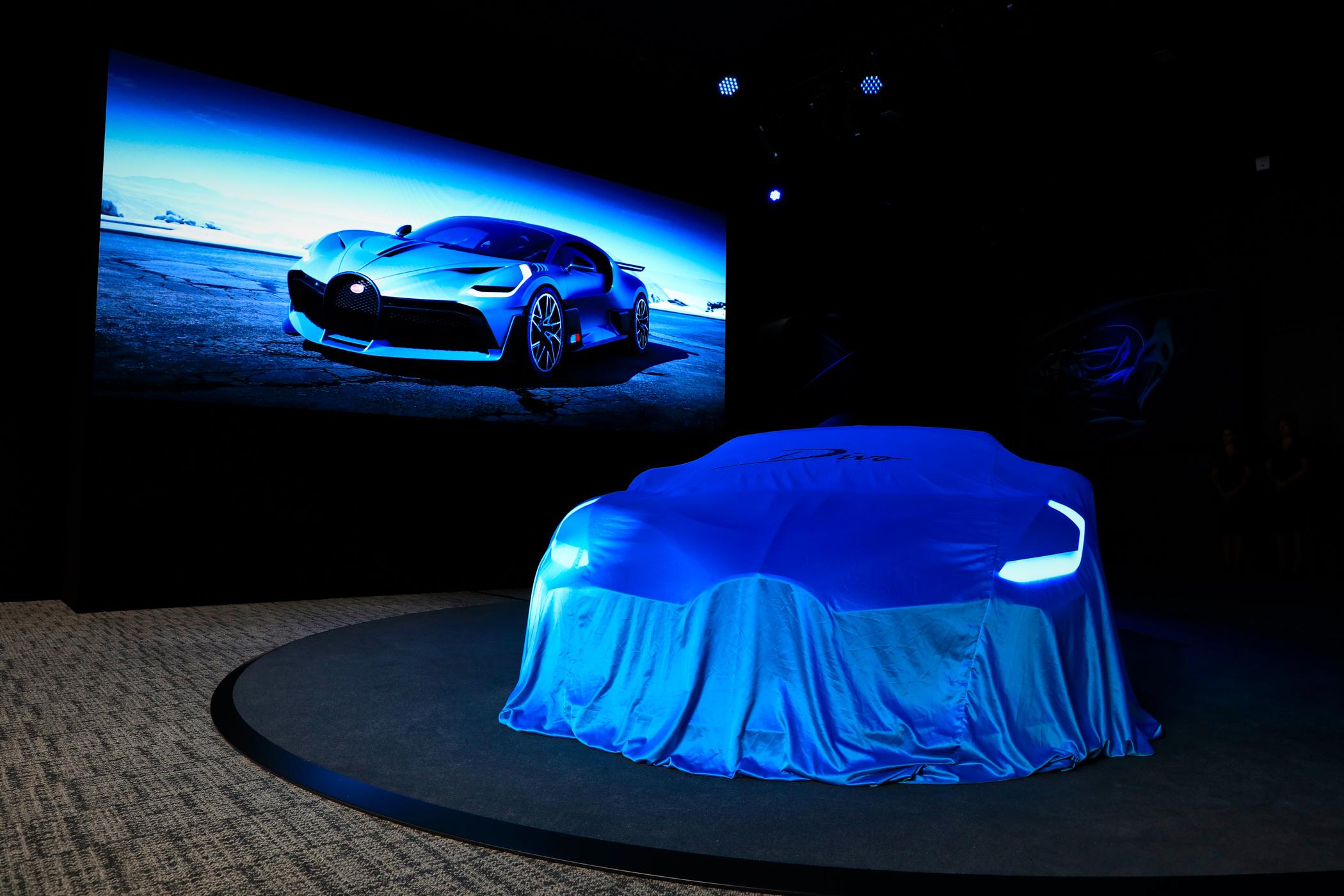 Bugatti Chiron Divo - Salone di Parigi 2018