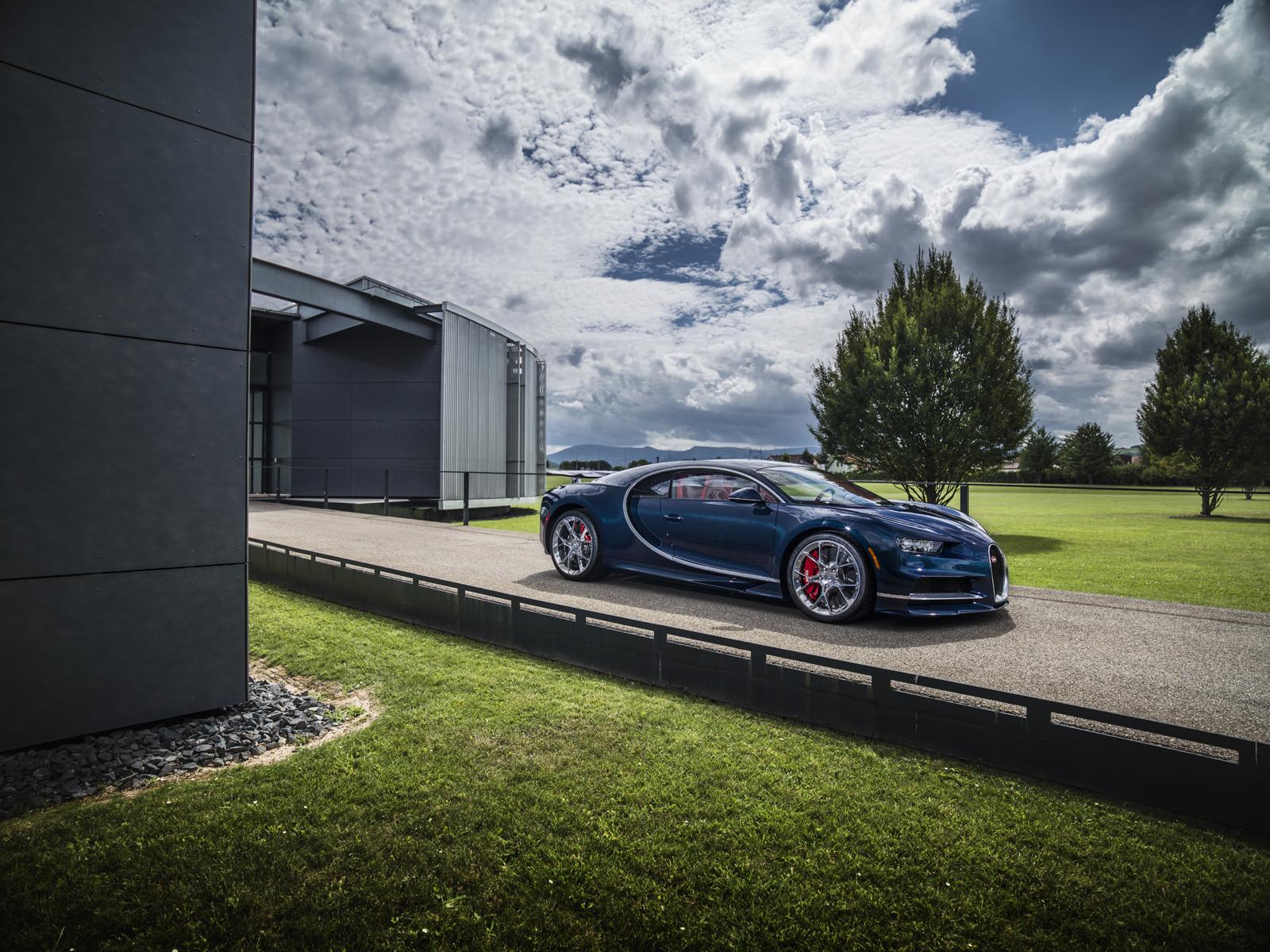 Bugatti Chiron e Vision Gran Turismo